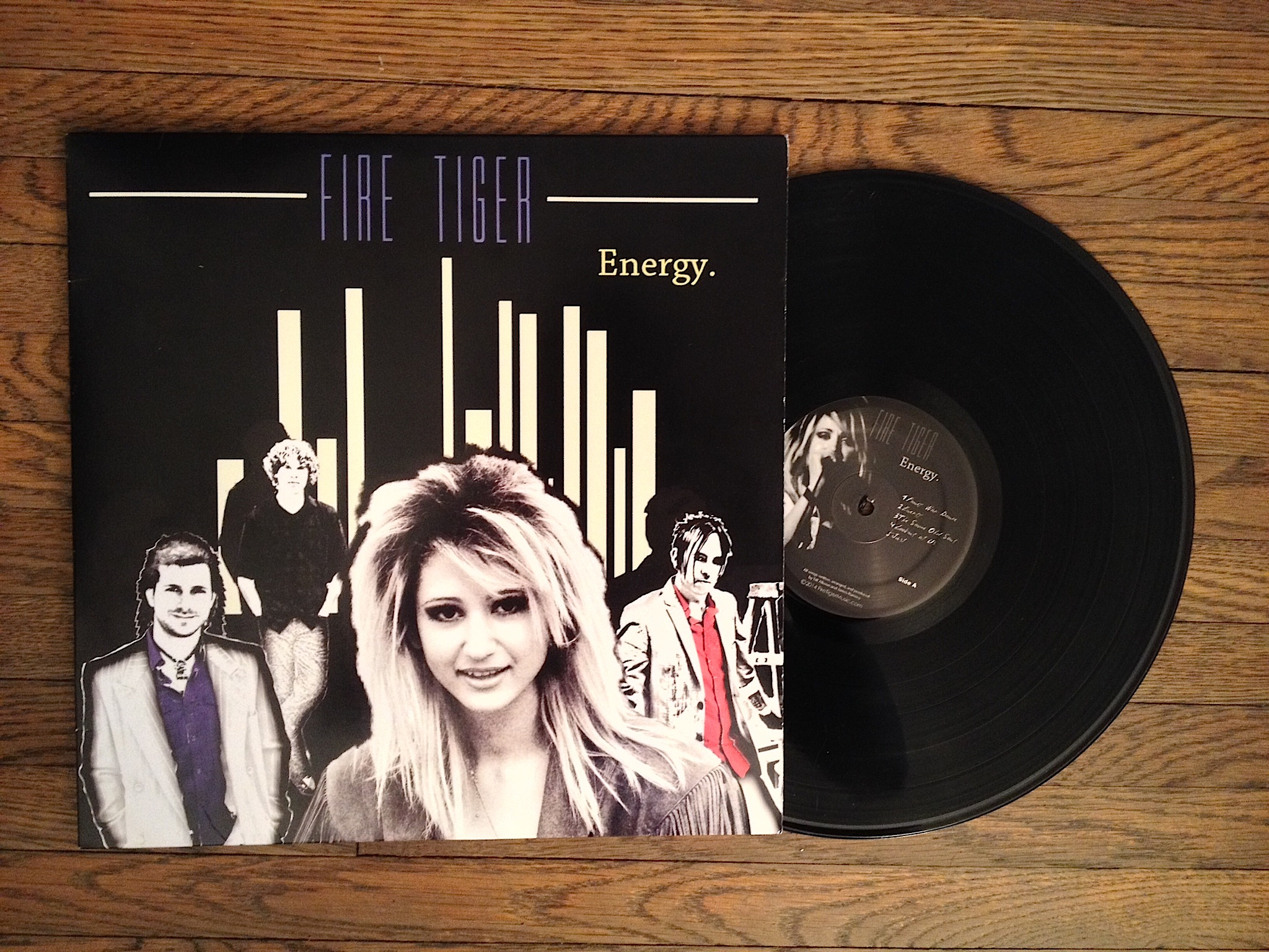 Energy Album - Vinyl Record